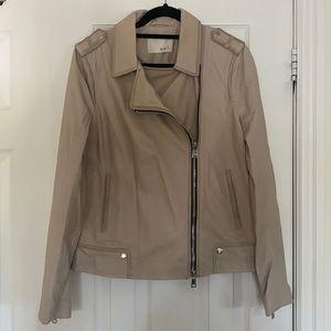 Oui Lamb Leather Jacket